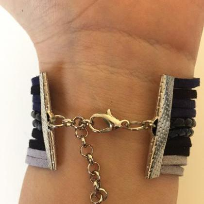Anchor Bracelet 320- friendship fai..